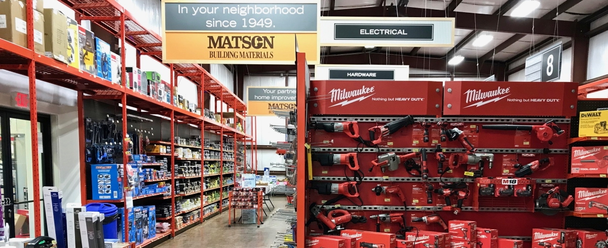 Matson Building Materials – Supporting contractors and our